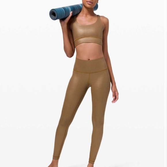 NWT! Special Edition Wunder Under HR tight Shine size 8